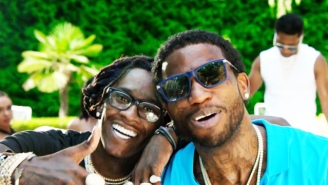 Watch Gucci Mane's Video For His Young Thug Collab, 'Guwop Home'
