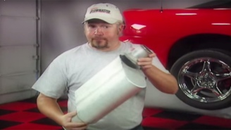 Guy Fieri Used To Hawk Mufflers On TV Before He Came To Flavortown