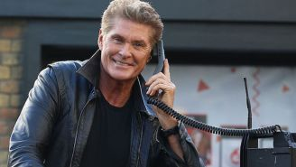 Please Enjoy David Hasselhoff Rapping About The Guardians Of The Galaxy