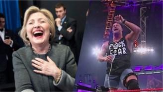 Hillary Clinton's DNC Entrance Video Got A Stone Cold Steve Austin Remix