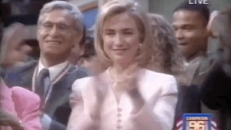 Reliving The Macarena Craze At The DNC Twenty Years Ago
