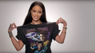 """Rihanna Hearts """"Star Trek?"""""""