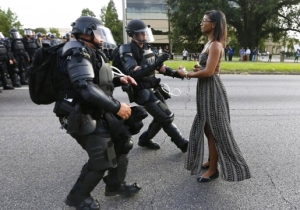 The Woman In The Already Iconic Baton Rouge Protest Photo Is A Brooklyn Nurse And Mother