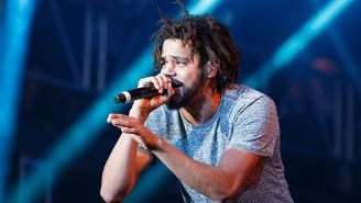 J. Cole Knows All About The Internet's 'Platinum With No Features' Jokes