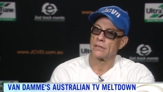 Jean-Claude Van Damme Splits When An Australian TV Interview Bored Him With Dumb Questions
