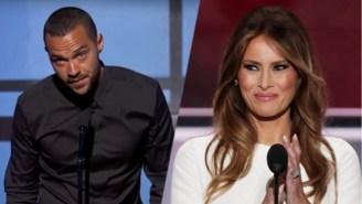 Jesse Williams Crushes Melania Trump's Republican Convention Speech