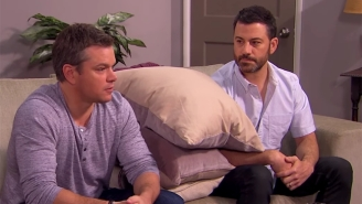Matt Damon And Jimmy Kimmel Make Another Go At Couples Counseling