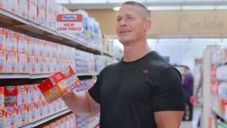 Hefty Brings You The Secret Origin Of John Cena And His Dancing Pecs