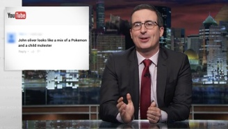 'Unfunny Live-Action Beaker' John Oliver Once Again Responds To YouTube Comments