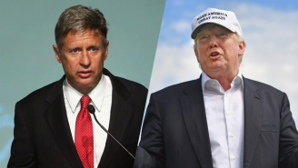 Libertarian Nominee Gary Johnson Slams 'Racist' Trump After His Take On Hijab-Wearing TSA Agents