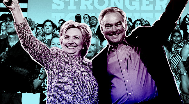 who is tim kaine hillary clinton vp
