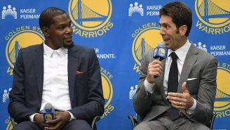 How Kevin Durant Accidentally Psyched Out The Warriors When He Told Them His Decision