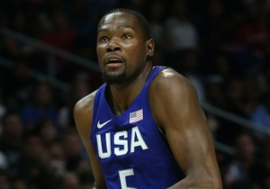 Kevin Durant 'Didn't Hear' Boos From The Staples Center Crowd During Team USA Introductions