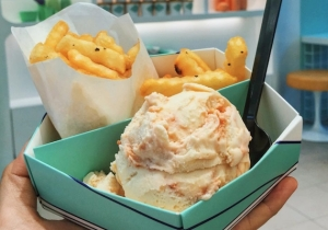 Ketchup And Mayo Ice Cream Is The Newest Thing To Dip Your Fries In