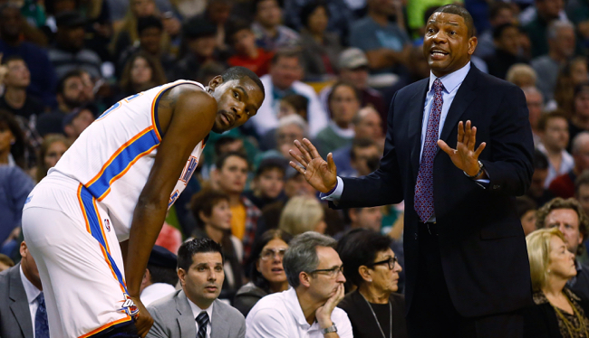 kevin durant, doc rivers