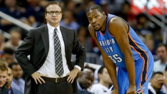 Former Thunder Coach Scott Brooks Feels Kevin Durant 'Earned That Right' To Leave Oklahoma City