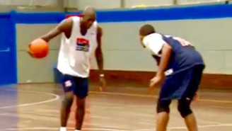 Remember When Kevin Garnett Dominated His Olympic Teammates In Full-Court One-On-One?