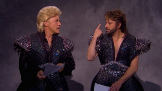 Christoph Waltz And Jimmy Kimmel Show Off Their 'Siegfried & Roy' Biopic Audition