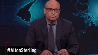 'The Nightly Show' And Larry Wilmore Ask, 'If All Lives Matter, Shouldn't Alton Sterling's?'