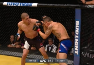 The Joe Lauzon Vs. Diego Sanchez Fight At UFC 200 Was Stopped Criminally Late