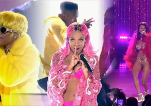 Watch Teyana Taylor, Lil Mama and Dej Loaf Completely Embody Lil Kim At The VH1 Hip Hop Honors