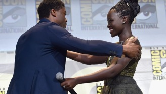 Lupita Nyong'o spilled 'Black Panther' secrets she probably shouldn't have at Comic-Con