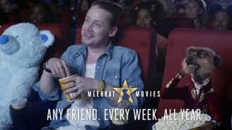 Macaulay Culkin Is Taking A Break From Retirement To Star In A Commercial With Talking Meerkats