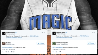 Orlando Magic Fans Went HAM When The Team Foolishly Asked About Their Summer On Twitter