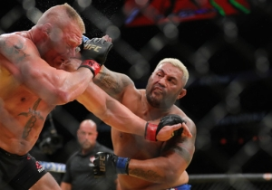 Brock Lesnar's Failed Drug Tests Are Getting Him Sued By Mark Hunt