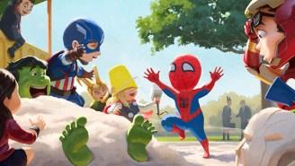 Fan art discovery: A sweet, heart-warming take on superheroes and 'Star Wars'