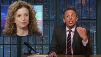 Seth Meyers Unleashes Some Hard Truth On Debbie Wasserman Schultz At The DNC