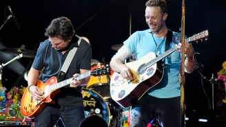 Michael J. Fox and Coldplay just made our 'Back to the Future'-obsessed heart melt