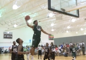 One Of The Top NCAA Recruits In The Country Pulled Off The T-Mac All-Star Dunk