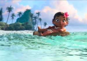 Baby Moana and beautiful music debut in Disney's new international teaser