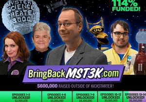 Netflix grabs Felicia Day/Patton Oswalt 'Mystery Science Theater 3000' revival
