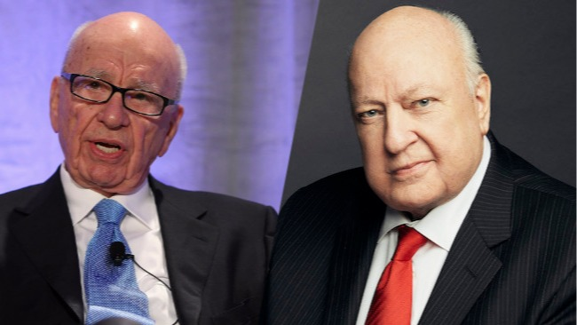 murdoch ailes fired fox news