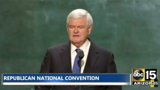 Newt Gingrich Warns The RNC Why Everyone Should Be 'Terrified' Of A Clinton Presidency
