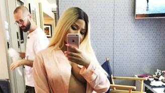Nicki Minaj Celebrates America's Freedom By Freeing The Nipple