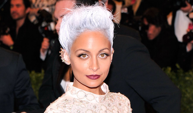 "NEW YORK, NY - MAY 06:  Nicole Richie, wearing custom Topshop, attends the Costume Institute Gala for the ""PUNK: Chaos to Couture"" exhibition at the Metropolitan Museum of Art on May 6, 2013 in New York City.  (Photo by Stephen Lovekin/FilmMagic)"