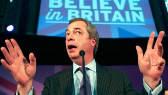 Brexit Instigator Nigel Farage Steps Down And Causes An Uproar