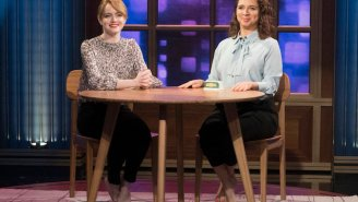 Maya Rudolph and Emma Stone sang 'Call Your Girlfriend' on 'Maya & Marty'