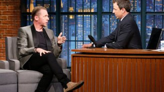 Seth Meyers confronts Simon Pegg about his old 'Star Trek' insult