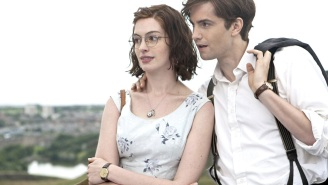 Celebrate 'One Day' Day with this sweet Anne Hathaway + Jim Sturgess reunion