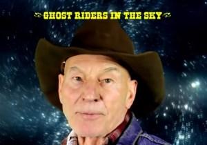 Sir Patrick Stewart Is Now Croonin' 'Cowboy Pat'