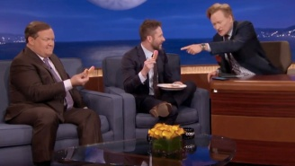 Chris Hardwick Brought Suggestively-Shaped Cookies For Conan And Andy Richter
