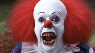 Here's your first look at Pennywise from the 'It' remake