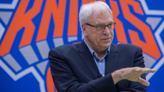 Phil Jackson Sets The Extremely Unrealistic Goal Of A 'Championship' For The Knicks This Season