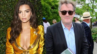 Piers Morgan Tried To Troll Emily Ratajkowski On Twitter And Failed So Hard