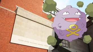 Someone Allegedly Found A Poisonous Gas Pokemon In The Holocaust Museum