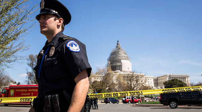 police-capitol-building